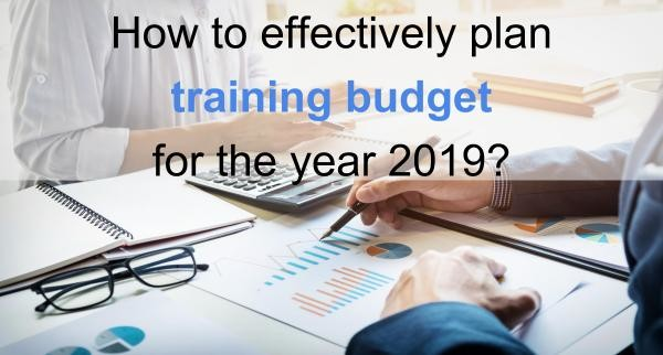 How to effectively plan training budget